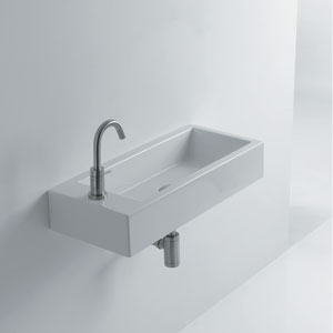 Hox Large Wall Mounted / Vessel Bathroom Sink