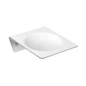 Kubic Class Polished Chrome Bathroom Soap Dish