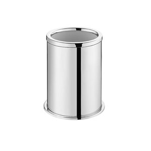 Kubic Class Polished Chrome Bathroom Toilet Brush Holder