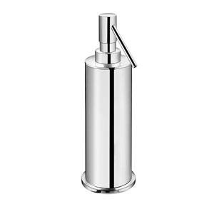 Kubic Class Polished Chrome Bathroom Soap Dispenser