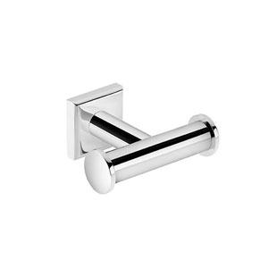Kubic Class Polished Chrome Bathroom Hook