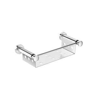 Kubic Cool Polished Chrome Bathroom Soap Dish