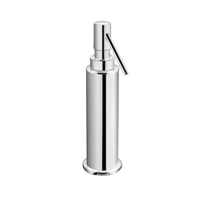 Kubic Cool Polished Chrome Bathroom Soap Dispenser