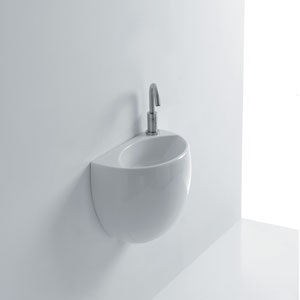 Kilo Wall Mounted Bathroom Sink