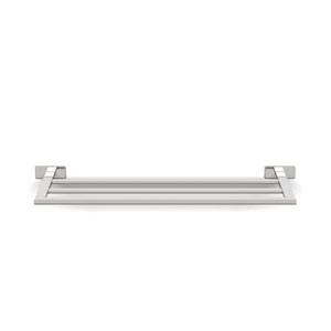 Lea Towel Rack  in Polished Chrome