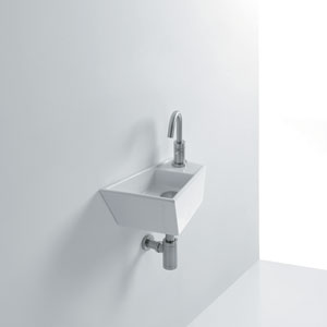 Micro Wall Mounted Bathroom Sink