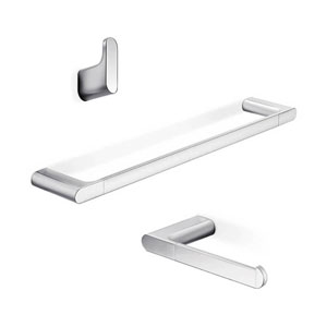 Mito Bathroom Accessory Set in Polished Chrome