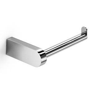 Muci Polished Chrome Single Toilet Paper Holder
