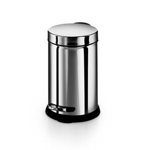 Otel Stainless Steel Small Waste Basket