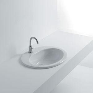 Orchidea Inset Bathroom Sink