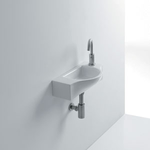 Peta Wall Mounted Bathroom Sink