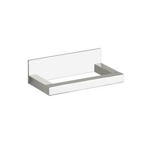 Quadra Toilet Paper Holder in Polished Chrome