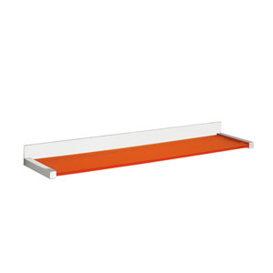Quadra Bathroom Shelf in Polished Chrome