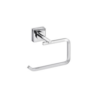 Quadro Toilet Paper Holder in Polished Chrome