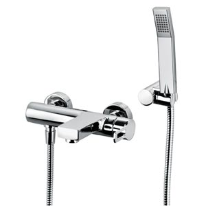 Fonte Ringo Polished Chrome Bath and Shower Faucet