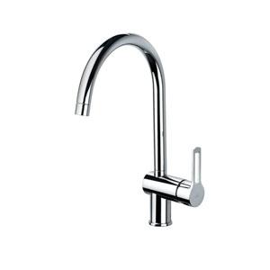 Fonte Polished Chrome Kitchen Single Hole Faucet