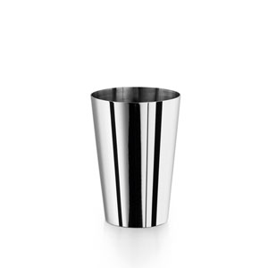 Complements Saon Stainless Steel Flared Tooth Brush Holder