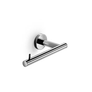 Spritz Polished Chrome Bathroom Toilet Paper Holder