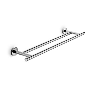 Spritz Polished Chrome Bathroom Towel Holder