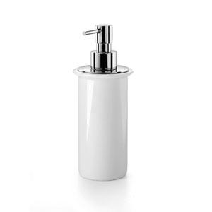Saon 50006 White Porcelain Soap Dispenser