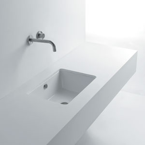 Under Mounted Bathroom Sink
