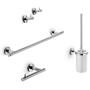 Spritz Accessory Set in Polished Chrome