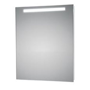 LED Lighted Wall Bathroom Mirror with Upper Light