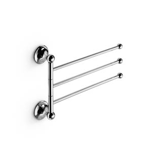 Venessia Chromed Brass Flexible Towel Rail