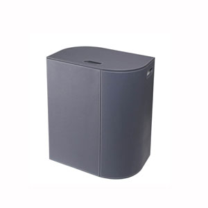 Vela Laundry Basket in Dark Grey