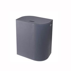 Vela Laundry Basket in Dark Grey