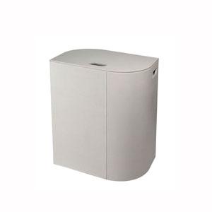 Vela Laundry Basket in Light Grey