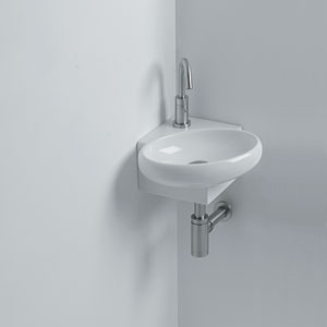 Yotta Wall Mounted Bathroom Sink