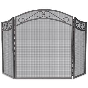 Black Tri-Fold Arch Top Screen