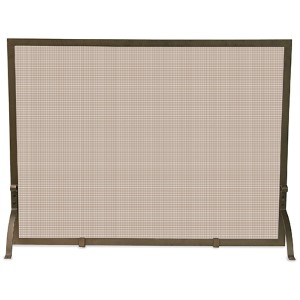 Bronze Single Panel Screen