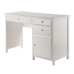 Delta Office Writing Desk White