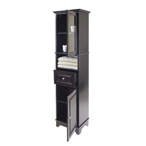 Alps Tall Cabinet w/ Glass Door and Drawer