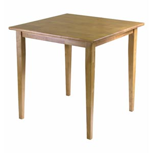 Groveland Light Oak Square Dining Table with Shaker Leg