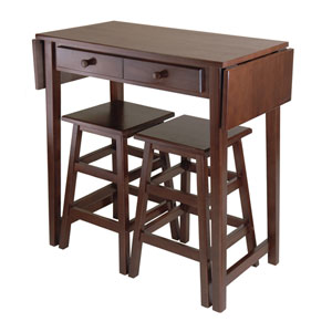 Mercer Double Drop Leaf Table with Two Stools
