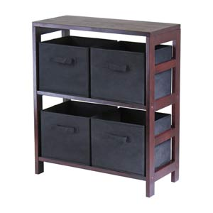 Capri Two Section N Storage Shelf