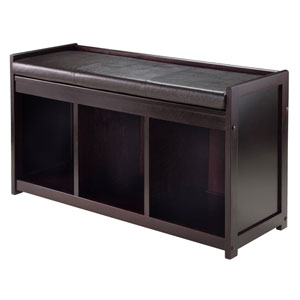 Addison 2-Piece Storage Bench with Cushion Seat