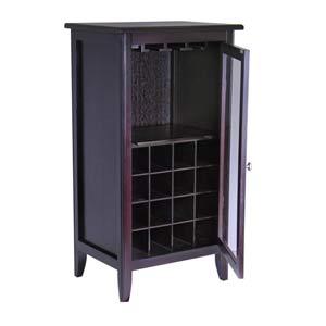 Espresso Wine Cabinet