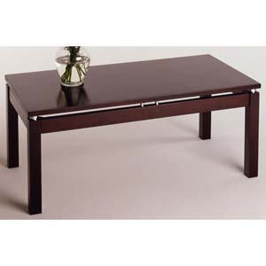 Linea Espresso Wood Coffee Table