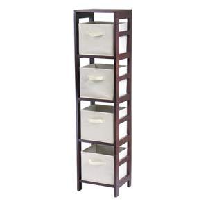 Capri Four Section N Storage Shelf