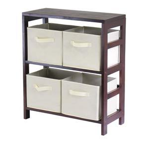 Capri Two Section N Storage Shelf