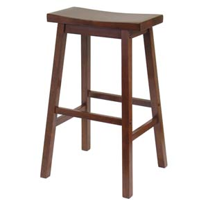 Bar Stool, 29-Inch, Saddle Seat, RTA