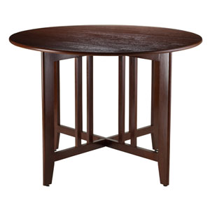 Alamo Double Drop Leaf Round 42-Inch Table Mission