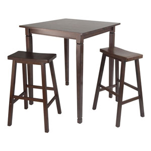 Kingsgate Pub Dining Table w/ Saddle Stool