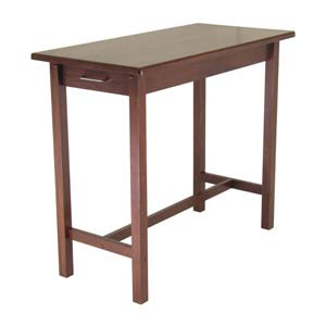 Antique Walnut Kitchen Island