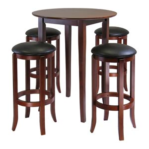 Fiona Round Five-Piece Pub Table Set