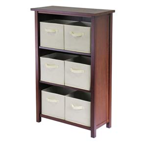 Verona Three Section N Storage Shelf